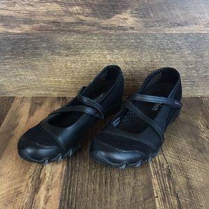 Skechers Black Mary Jane Shoes Women's Sz 7.5